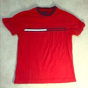 Red Tommy Hilfiger T-Shirt